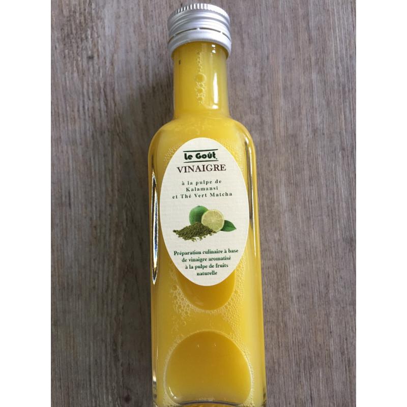 Vinaigre à la pulpe de Kalamansi et thé vert Matcha