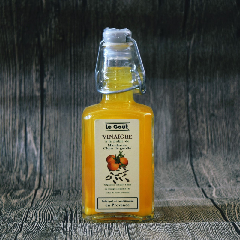 Vinaigre à la pulpe de Mandarine et Girofle