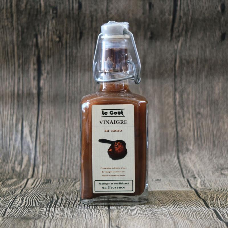 Vinaigre aromatisé au Cacao